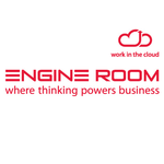 Small engine room witc logo portrait sml white